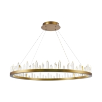 Candelabru living LED clasic Maytoni Gletscher, alama, LED 61W, H:41-176cm