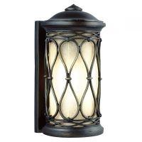 Aplica superba de exterior WELLFLEET, bronz, H:32cm, IP44, E27