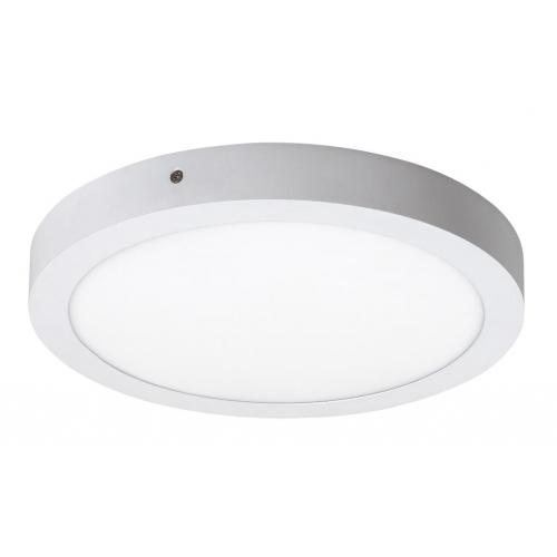Plafoniera LED rotunda alba 24W, D:30cm, 1700lm, 4000K, LOIS 2657