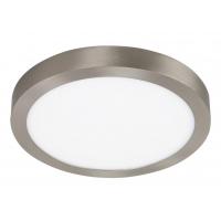 Plafoniera LED rotunda nichel mat 24W, D:30cm, 1700lm, 4000K, LOIS 2661