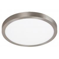 Plafoniera LED rotunda nichel satin 36W, D:40cm, 2500lm, 4000K, LOIS 2662