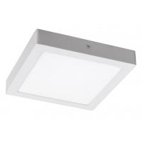 Plafoniera LED patrata alba 18W, 23x23cm, 1400lm, 4000K, LOIS 2664