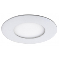 Spot LED incastrabil rotund alb 3W, D:8.5cm, 4000K, 170lm, LOIS 5568
