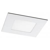 Spot LED incastrabil patrat alb 3W, 9x9cm, 4000K, 170lm, LOIS 5576