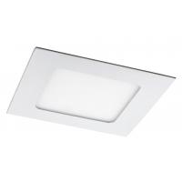 Spot LED incastrabil patrat alb 6W, 12x12cm, 350lm, 4000K, LOIS 5577