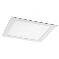 Spot LED incastrabil patrat alb 12W, 17x17cm, 800lm, 4000K, LOIS 5578