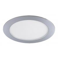 Spot LED baie IP44 incastrabil rotund crom 12W, D:17cm, 800lm, 4000K, LOIS 5585