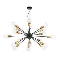 Candelabru modern Loft Maytoni Jackson, negru, 18xE27 7W, H:75-87cm