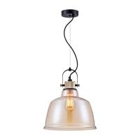 Pendul lux Loft Maytoni Irving, ambra, E27 40W, H:45-150cm
