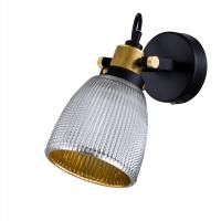 Aplica Loft Maytoni Tempo, neagra, E27 40W