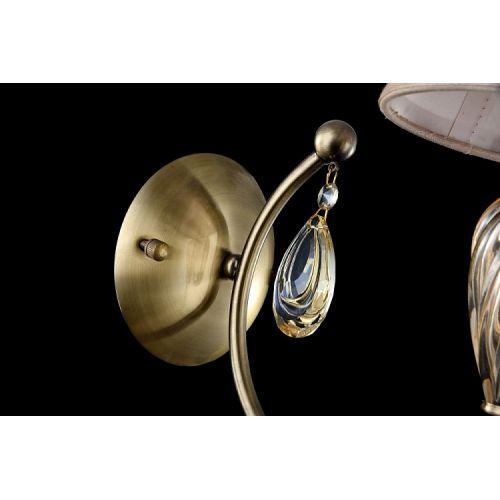 Aplica clasica Maytoni Murano, bronz, E14 40W