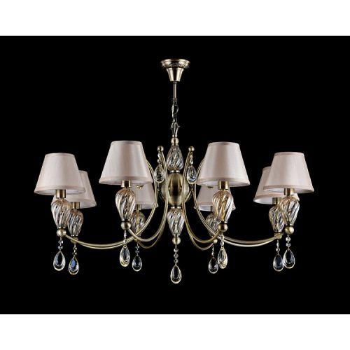 Lustra clasica Maytoni Murano, bronz, 6xE14 40W