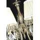 Lustra living clasica Maytoni Latona, bronz, 8xE14 40W, H:53-98cm