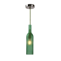 Pendul Roilux Alella/1L, E27, 1x40W, Verde