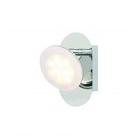 Aplica LED Roilux Berlin 1L/AP, SMD, 1X5W, Crom
