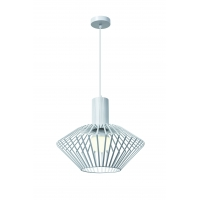 Pendul metal Roilux Odessa D.30, E27, 1x60W, Alb