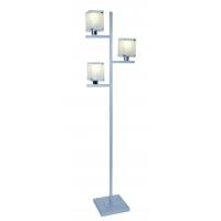 Lampadar Roilux Oslo 3L/S, E27, 3x60W, Argintiu