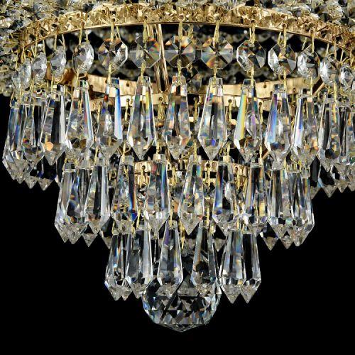 Lustra living cristal Maytoni Palace, aurie, 6xE27 60W