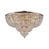 Candelabru living cristal Maytoni Palace, auriu, 18xE27 60W