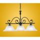 Lustra rustica livng si dormitor Eglo Murcia 91005 3xE27