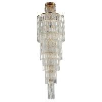 Candelabru hol cristal Maytoni Niagara, auriu, 16xE14 60W