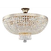 Plafoniera sufragerie cristal Maytoni Bella, alba, 6xE14 60W