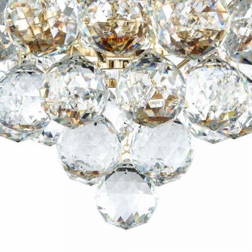 Lustra bucatarie cristal Maytoni Gala, aurie, 4xE27 60W