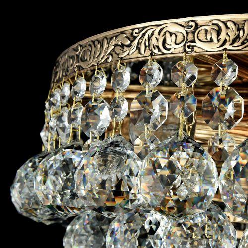 Lustra living cristal Maytoni Gala, aurie, 6xE27 60W