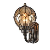 Aplica de iluminat exterior Champs Elysees, bronz, 1x100W-E27, H 39 cm