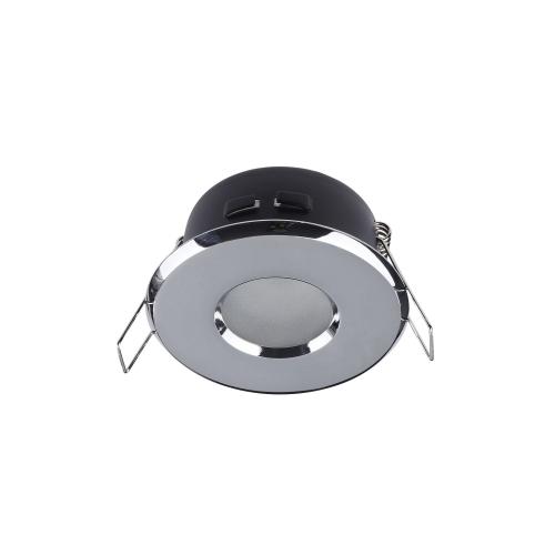 Spot incastrabil downlight Maytoni Metal, crom lucios, MR16 GU10 50W, DL010-3-01-CH, IP44