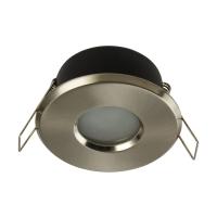 Spot incastrabil downlight Maytoni Metal, nichel mat, MR16 GU10 50W, DL010-3-01-N, IP44