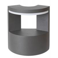 Aplica exterior LED Wallowa 7967, antracit, 10W, 720lm, 4000K-alb neutru, IP54 H:17cm