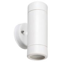 Spot minimalist plastic alb Medina 8837, GU10 2x10W, IP44
