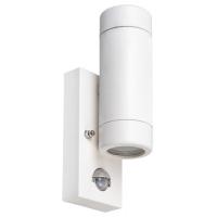 Spot cu senzor minimalist plastic alb Medina 8839, GU10 2x10W, IP44