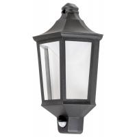 Aplica LED cu senzor exterior stil modern-retro Rosewell 8980, LED integrat 8W IP44