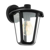Aplica exterior Eglo Monreale, 98121, 1x60W E27, neagra