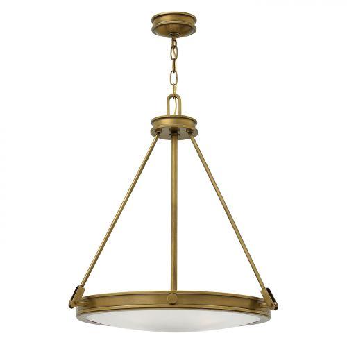 Candelabru tranzitional Hinkley Collier, E14, 4x60W, bronz
