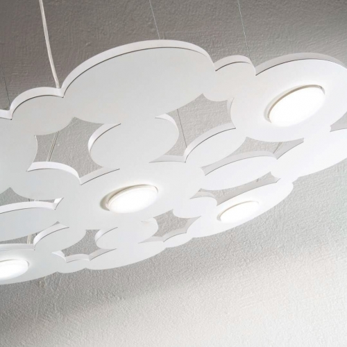 Lustra LED living, Toronto Sp5 Cromo, crom, 5x15W