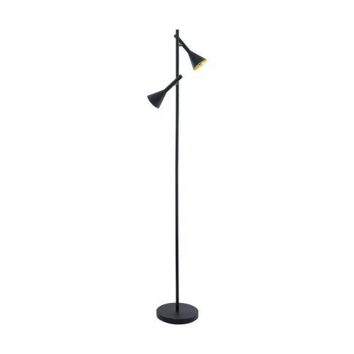 Lampadar LED modern negru Cortaderas 97806, 10W GU10, 800 lumeni