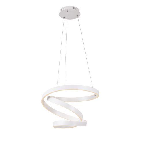 Lustra LED suspendata Scorpio, alba, 60W, Ø 50 cm, 3600 lumeni, 3000K