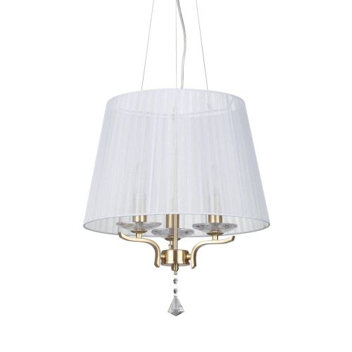 Lustra Pegaso Sp3, auriu-alb, 3 becuri, 120W-E14