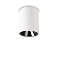 Spot Nitro rotund alb, 15W-LED, alb cald, 1350 lumeni