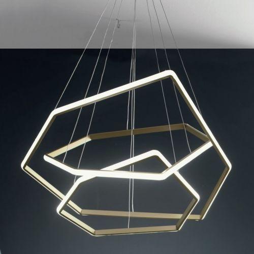 Lustra LED living Stardust, 66W, 6600 lumeni, 3000K, LED dimabil