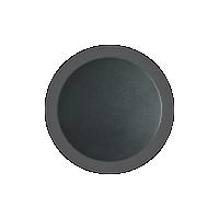 Aplica design Cover Ap1 rotunda, neagra, D:15 cm, 11W-LED, alb cald, 1112 lumeni