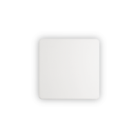 Aplica Cover Ap1 patrata, alba, L:15 cm, 9W-LED, alb cald, 934 lumeni