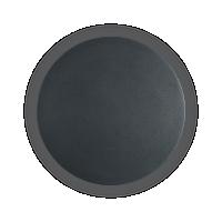 Aplica design Cover Ap1, rotunda, neagra, D:20 cm, 11W-LED, alb cald, 1112 lumeni