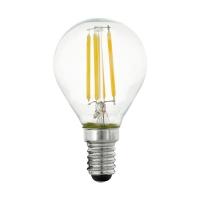Bec sferic E14-LED P45 4W 2700K dimabil in trepte, 470 lumeni, alb cald