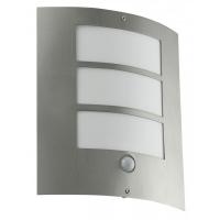 Aplica senzor Eglo City 88142 15W E27 27 cm IP33