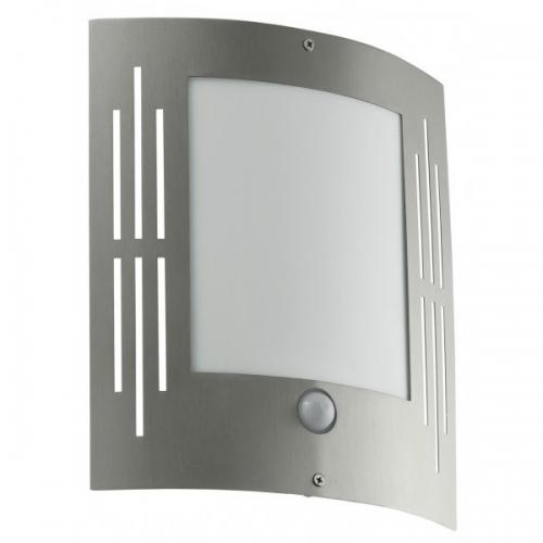 Aplica cu senzor Eglo City 88144 15W E27 IP33