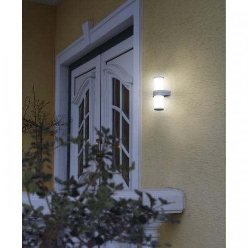 Aplica exterior Eglo Beverly 94799 2x3.7W-LED 27cm inox